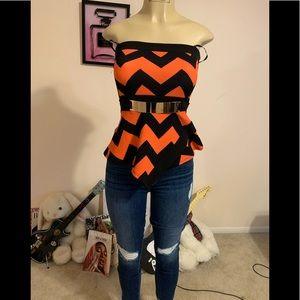 Papaya blouse